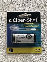 Bateria p  tel. s  fio  panasonic hhr p105   frete gratis