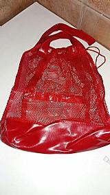 Bolsa sacola praia couro sintetico porta documento