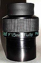 Ocular 2 polegadas 15mm swa 80° telescopios