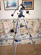 Montagem eq1 para telescopios e lunetas