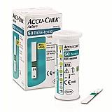 Tiras de medir glicose accu chek active