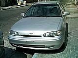Accent 97/97 autom. motor novo  completo teto solar prata r$10.500, 00
