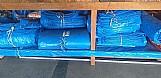 Lona ona para coberturas.  lonas plasticas  encerados algodao  cordas polietileno  cordas polipropileno  cordas sisal  encerados 100% tecido algodão