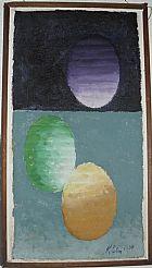 Artes plasticas. quadro de heinz kuhn