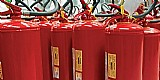 A loja de extintores