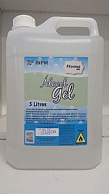 Álcool gel 70% 5 litros hortela - florena seif