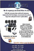 Cftv,     geovision,     camera,     seguranca,     dvr,     stand alone,     kit completo,     luxvision