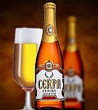 Cerveja cerpa garrafa