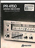 Manual do receiver polivox pr 4150 ou pr 150