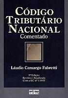 Livro codigo tributario comentado- fabretti