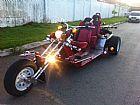 Triciclos customizado semi novo
