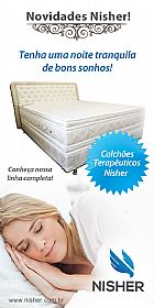 Colchao medicinal magnetico nisher.