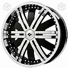 Roda aro 22 black ice alloys vb4-114x5 original
