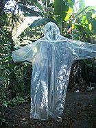 Capas p/ chuva descartãvel transparente