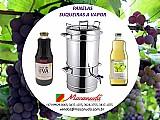Aparelho para fazer suco de uva