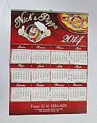 Calendario parede - folhinha comercial 2014 - 100 unid.