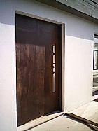 Porta pivotante em aco corten casa do corten 11 4112-4616