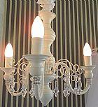 Luminaria teto delicada