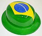 Kit Atacado Torcedor Chapeu Brasil Torcida Copa do Mundo Jogos Futebol