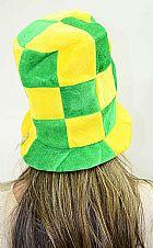 Chapeu Atacado Torcida Jogos Futebol Brasil Copa do Mundo Torcedor
