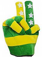 Chapeu Torcida Brasil Maozinha Jogo Futebol Torcedor Copa do Mundo