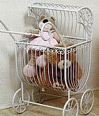 Carrinho decorativo de bebe