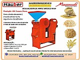 Máquina de descascar arroz macanuda haubermaschinen