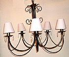 Luminaria 5 lampadas
