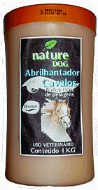 Abrilhantador nature dog para cavalos - 1kg