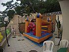Pula pula cama elastica piscina de bolinha sonorizacao aluguel de festas bufe