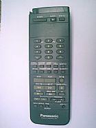 Controle remoto panasonic vsqs0832,  ag1240,  nvl23px,  tg1240