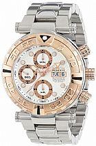 Relogio Invicta Mens 10483 Subaqua Reserve Automatic Chronograph Silver Texture