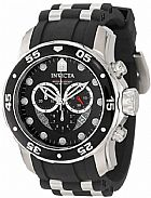 Relogio Invicta Mens 6977  Pro Diver Collection  Stainless Steel and Black