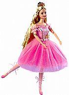 Brinquedo barbie in the nutcracker sugarplum princess doll