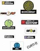 Body systems - les mills mixes em dvd e cd todas as modalidades