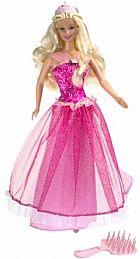 Brinquedo mattel pretty princess barbie doll