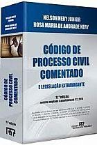 Codigo de processo civil comentado e legislacao extravagante