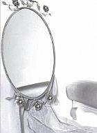 Moldura para espelho oval