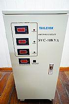 Estabilizador de energia eletrica -10kva / 220v - trifasico - profissional