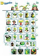 Produtos copa 2014, copa do mundo,  brasil,  bandeira,  peruca,  oculos,  chapeu