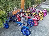 Quadriciclo a pedal