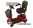 Quadriciclo scooter mobility silver - cadeira de rodas eletrica