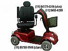 Quadriciclo scooter mobility golden - cadeira de rodas motorizada