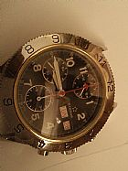 Relogio eterna em aco cronografo automatico 38 mm