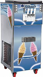 Maquina de sorvete milksoft s3 premium duo