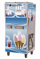 Maquina de sorvete milksoft s4 mix para sorvete   milkshake