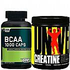Bcaa 1000 mg 400 caps - optimun nutrition
