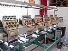 Maquina de bordar tajima 9 agulhas 6 cabecas