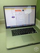 Macbook pro 17  pol intel i7 8gb 750gb hd