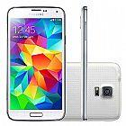 Smartphone galaxy s5 - g900m branco desbloqueado 4g,  tela 5, 1��,  android 4.4.2,  wi-fi,  camera de 16mp,  16 gb,  - samsung
